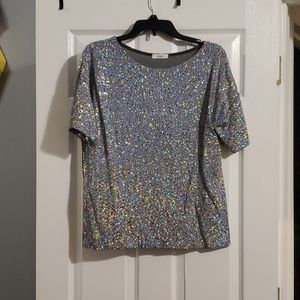 Sparkle all over top